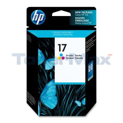 HP NO 17 INKJET CARTRIDGE TRI-COLOR